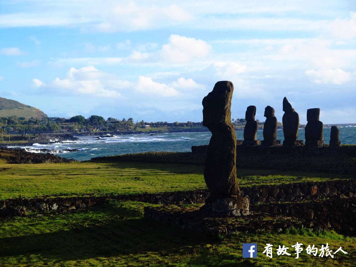 復活節島行程拆解(Part 1):徒步西岸看Moai日落、直闖最高點