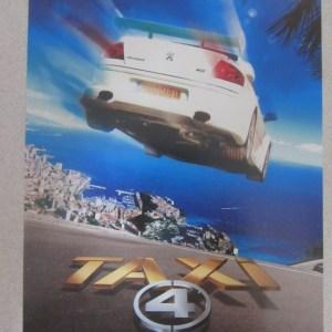 極速的士4 日本電影海報