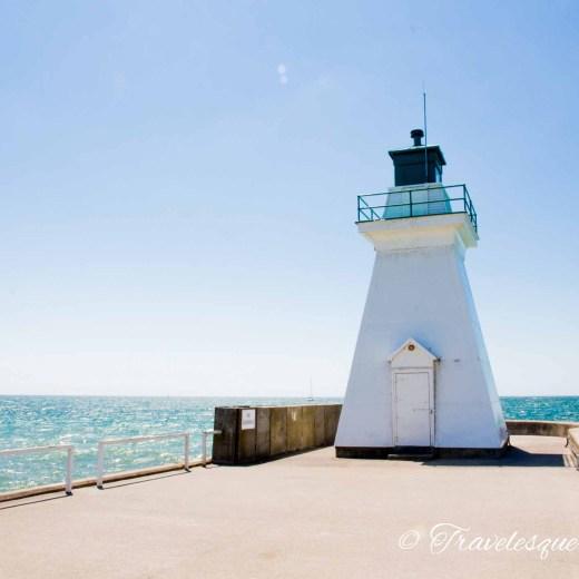 Port Dover, Pier, Light House, Ontario