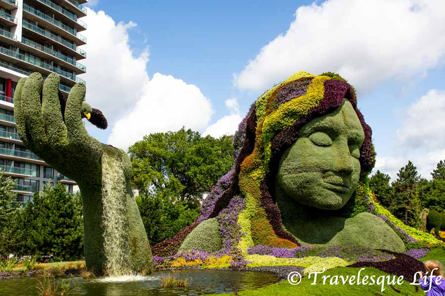 MosaiCanada 150: Canada's Heritage in Topiaries