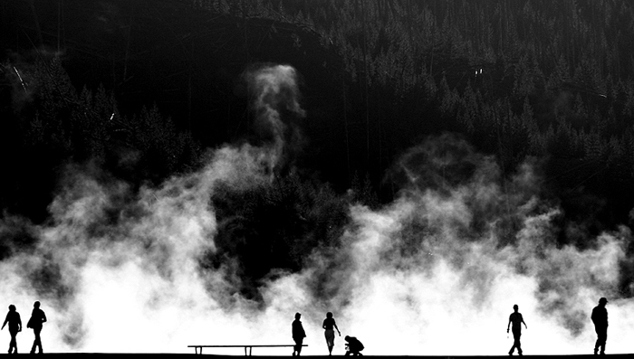 """Last Year's Winning Photograph """"Midway Geysers, Yellowstone National Park"""" by John Shea O'Donnell"""