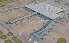 Rancangan bandara terbaru Istanbul - foto: telegraph.uk
