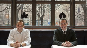 Daniel Humm dan Will Guidara, sosok di balik Made nice, berpredikat bintang tiga Michelin - foto: cnn.com