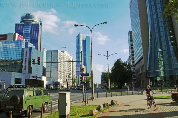 Warszawa - Al. Jana Pawła II