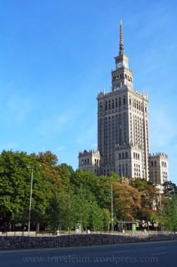 Warszawa - Pałac Kultury i Nauki