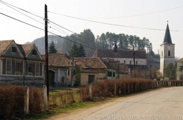 wioski saskie w Transylwanii - Biertan