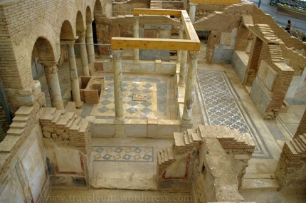 Wille tarasowe w Efezie