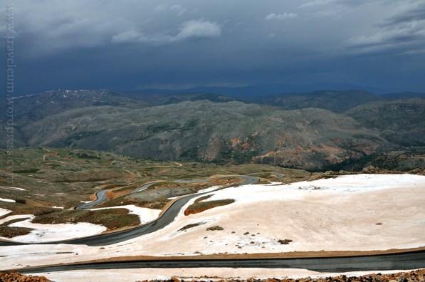 W drodze na Nemrut Dağı (góra Nemrut)