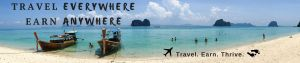 Travel Everywhere. Earn Anywhere - banner