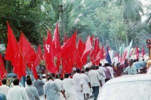 Political rally Kerala