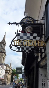the Chequers pub, Oxford
