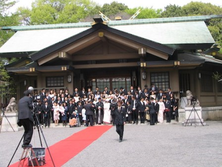 Japanese wedding Togo Shrine Harajuku (22)