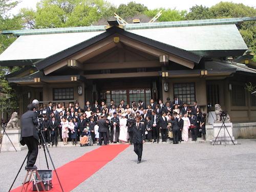 Japanese wedding Togo Shrine Harajuku (22)