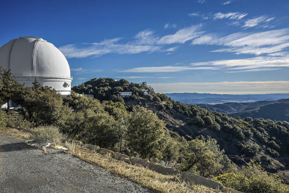 Lick observatory summer 1