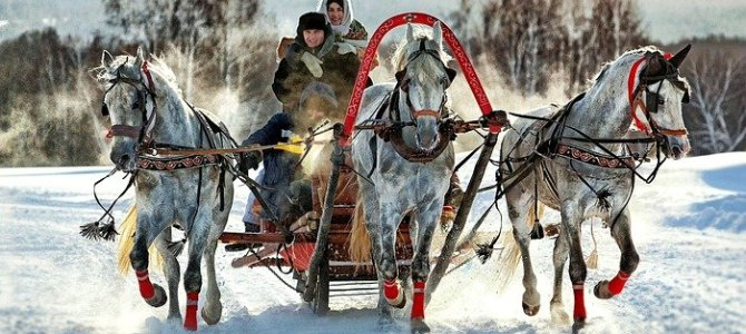 Enjoy a Troika Ride in Russia