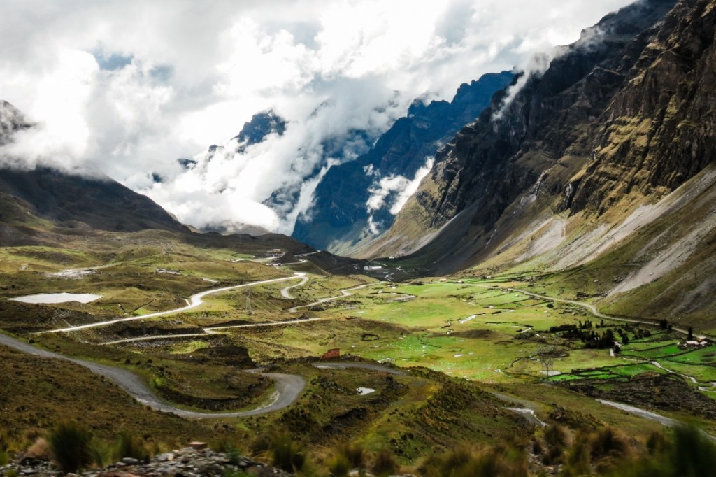 The Yungas Road (source: https://www.flickr.com/photos/imatty35/)