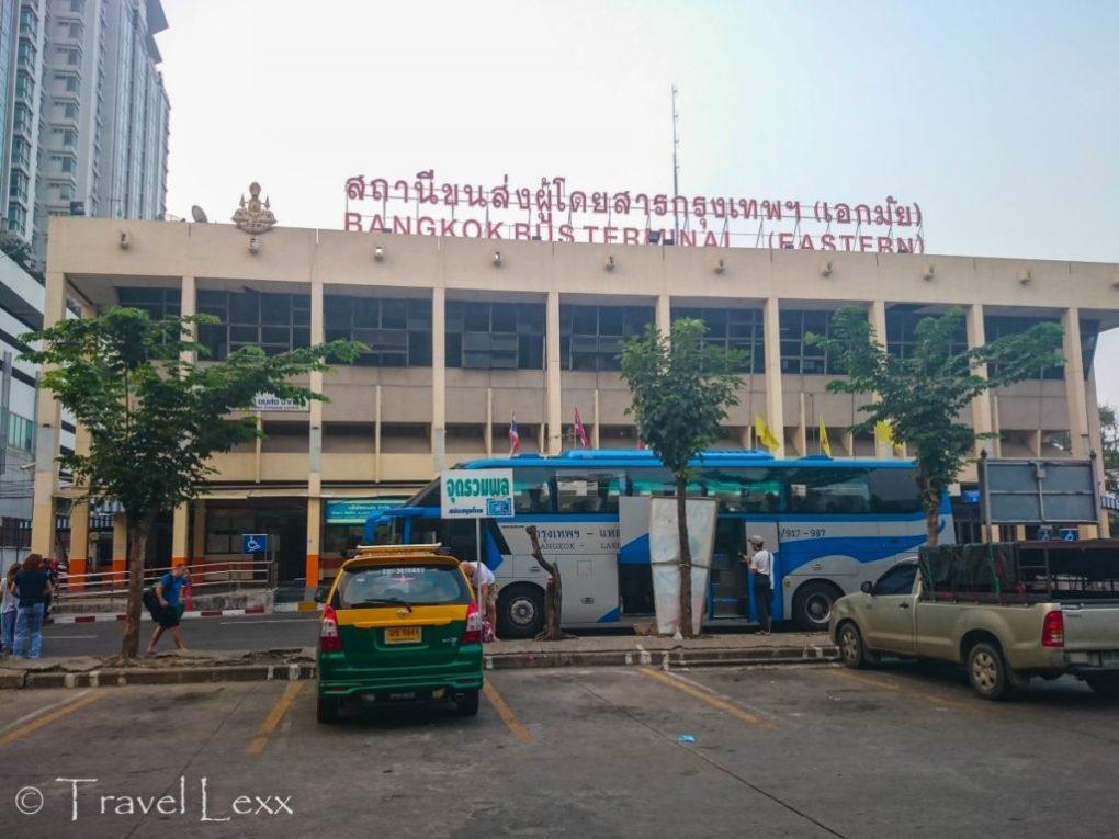 Ekkamai Bus Terminal, Bangkok
