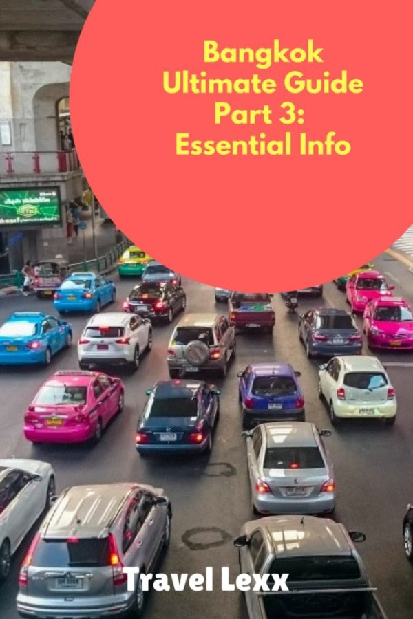 In Part 3 of my Ultimate Bangkok Travel Guide, I focus on essential information for visitors to the city including how to get around on public transport, where to stay and how to exchange your money!