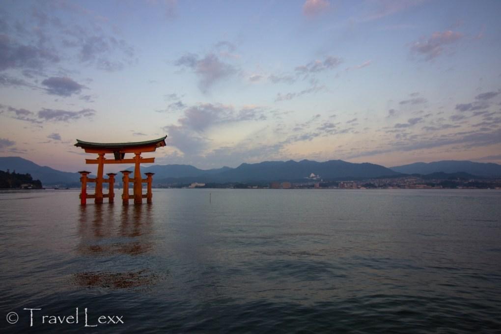 """Floating"" torii gate, Miyajima"
