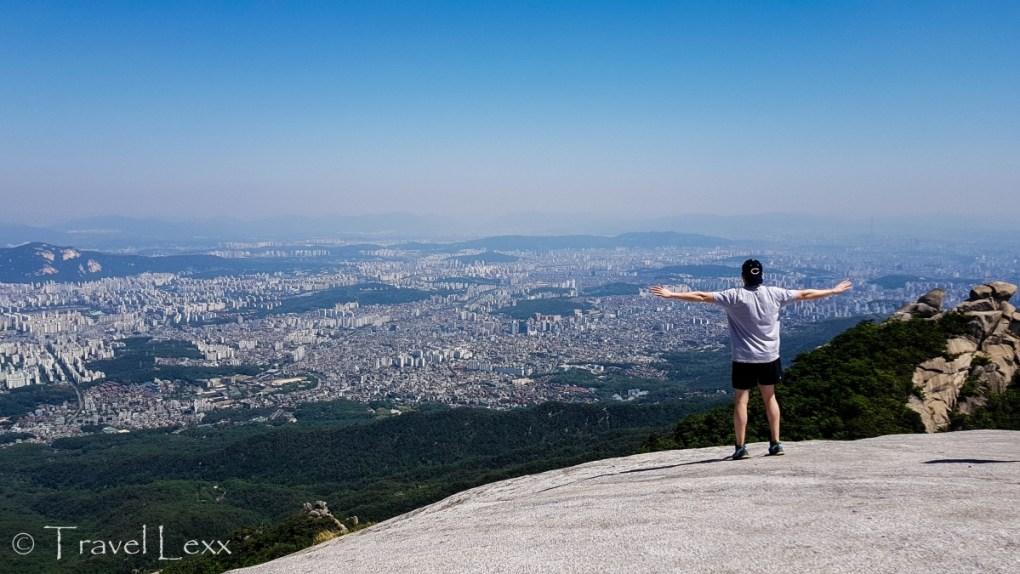 Bukhansan National Park - Korea hiking trails