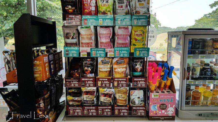 Convenience store, Korea Travel Guide