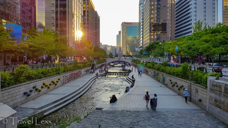 Cheonggyecheon Stream, Reasons to visit South Korea