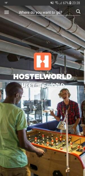 Travel Apps - Hostelworld