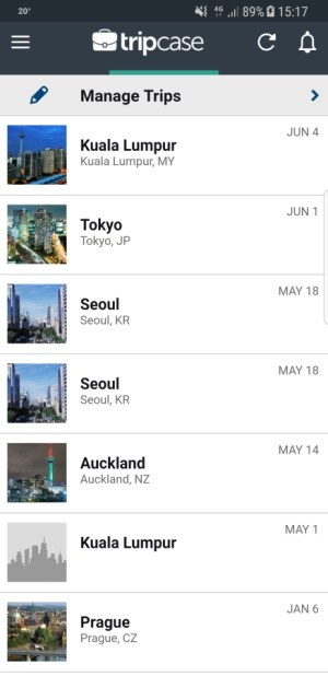 Travel Apps - TripCase