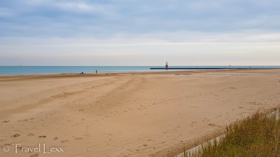 Osterman Beach - Chicago Lakefront Trail