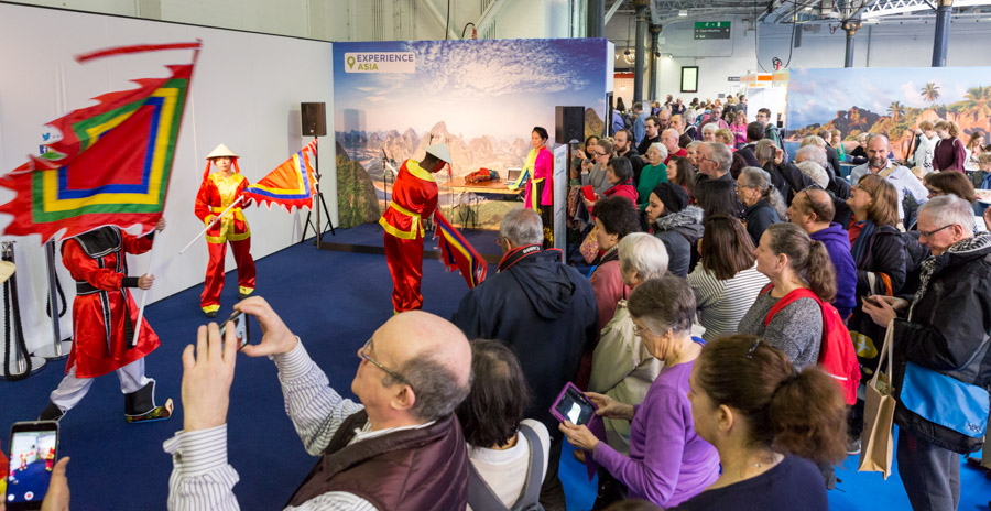 Experience The World stages - Destinations: Holiday & Travel Show