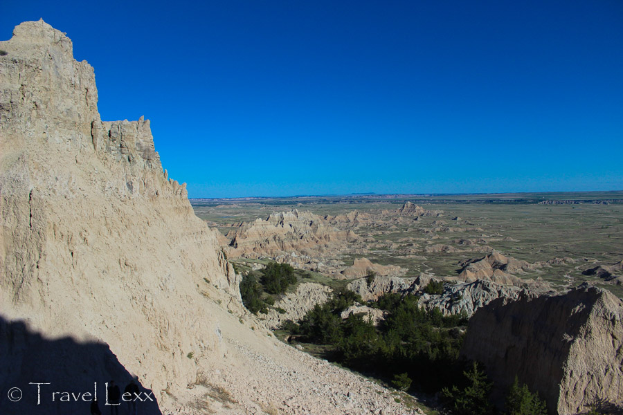 View of the badlands - Notch Trail