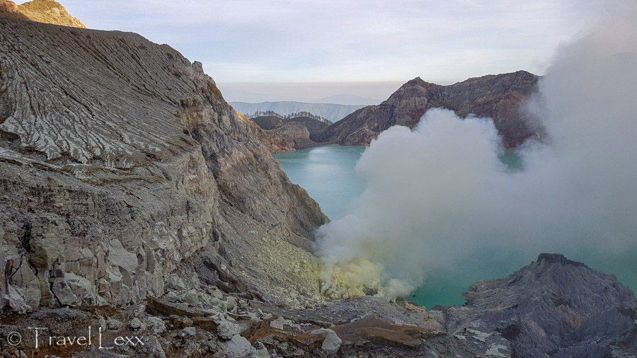 Visiting Kawah Ijen crater is one of the top things to do around Banyuwangi