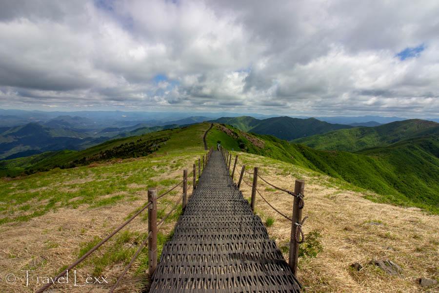 Ridge walk in Sobaeksan National Park