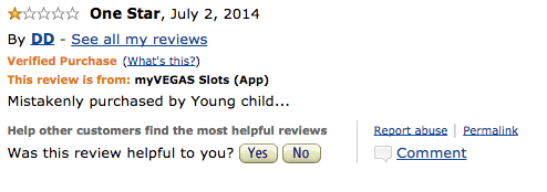 People know that you don't have to review every product you download, right/