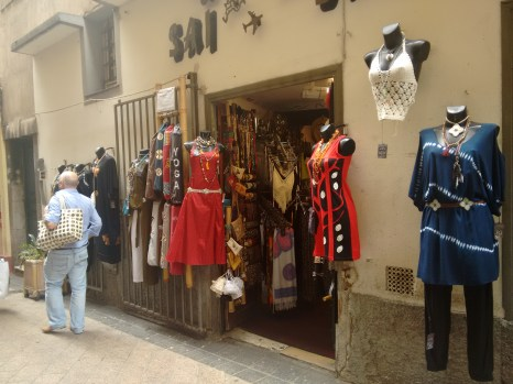 Vieux Nice..very popular for shopping and very Indian.