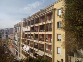 Regular buildings.