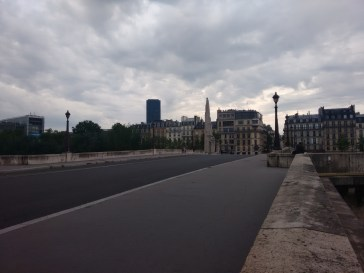 From one of the bridge to Île Saint-Louis.