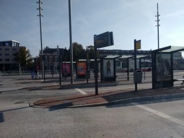 Delft bus station.