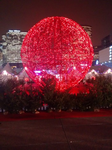 The Big Red Christmas Ball!