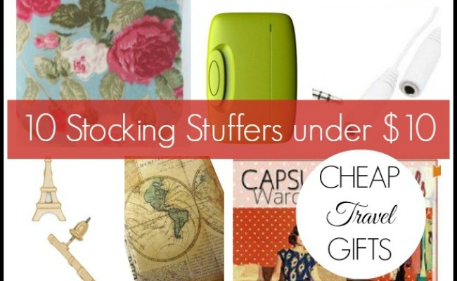 Cheap Travel Gifts 10 Stocking Stuffers Under 10