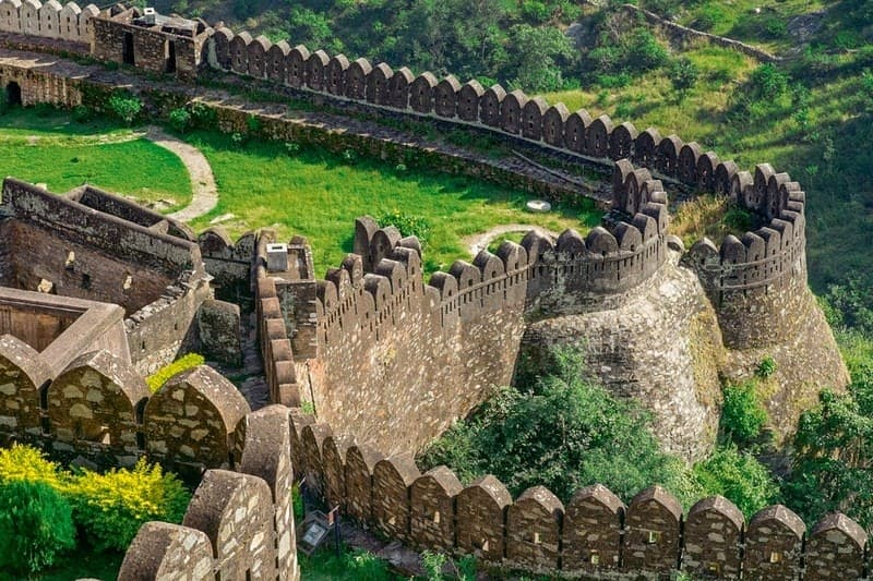 great wall of India
