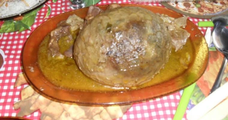 Brazilian Buchada de Bode (Goat's intestines) Recipe