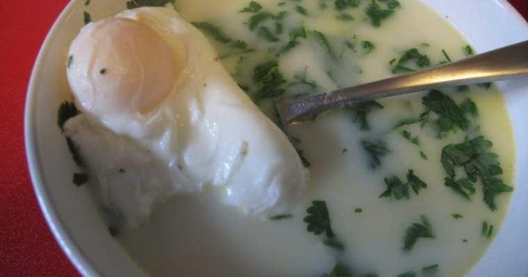 Authentic Colombian Changua Recipe (Egg & Milk Soup)