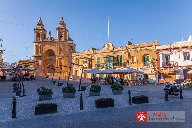 Malta town square