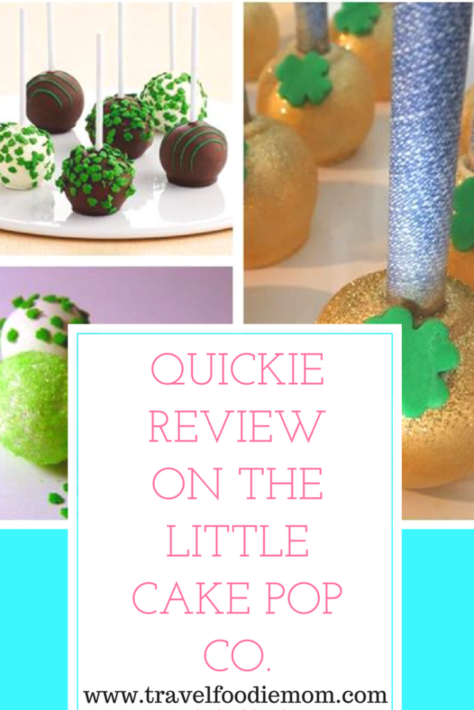 Quickie Review On The Little Cake Pop Co.