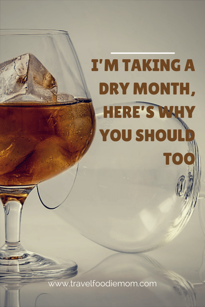I'm Taking A Dry Month, Here's Why You Should Too