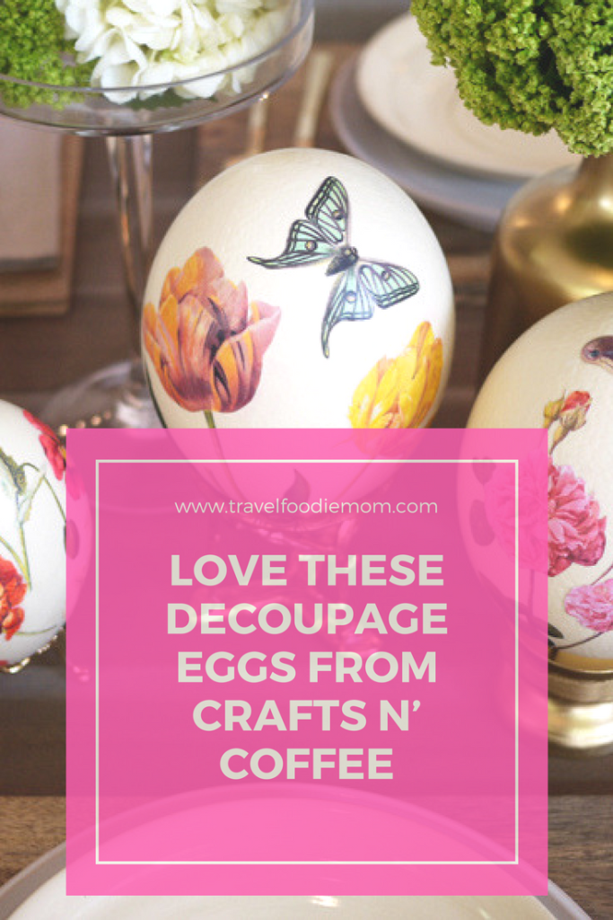 LOVE These Decoupage Eggs From Crafts n' Coffee
