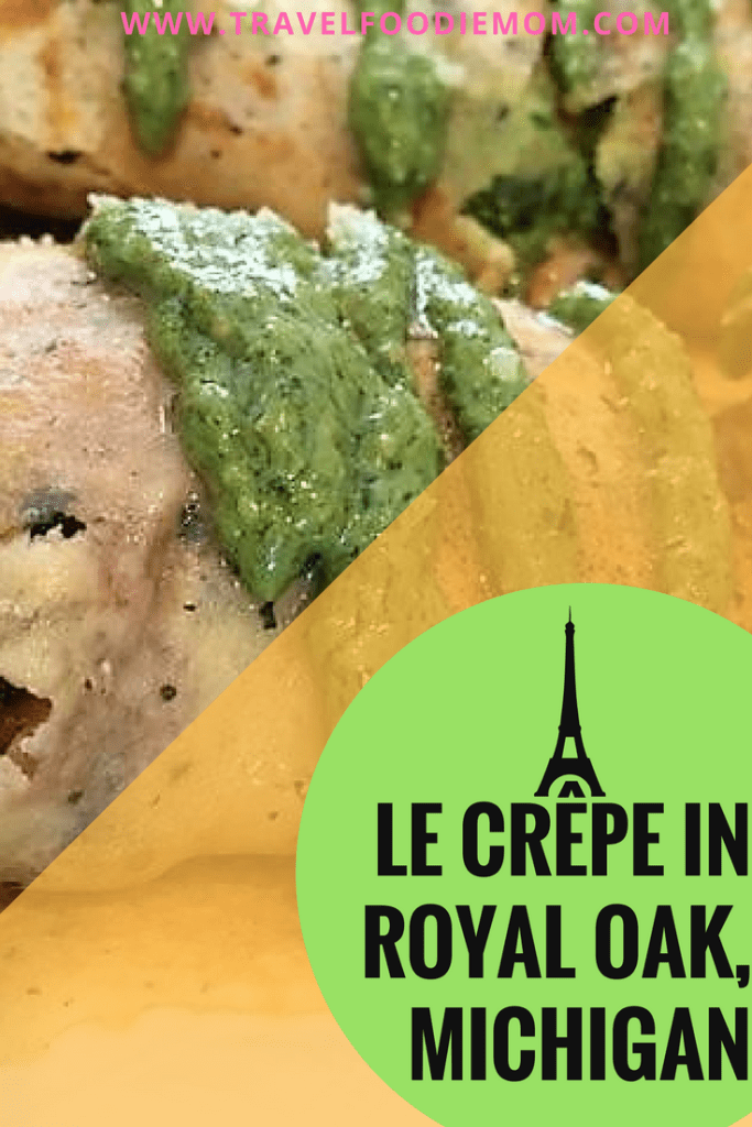 Feel Like You Are in Paris at Le Crêpe in Royal Oak, Michigan