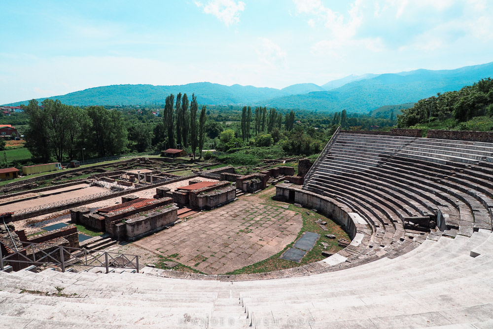Heraclea Lyncestis - The Ancient Roman Theater in Bitola, North Macedonia