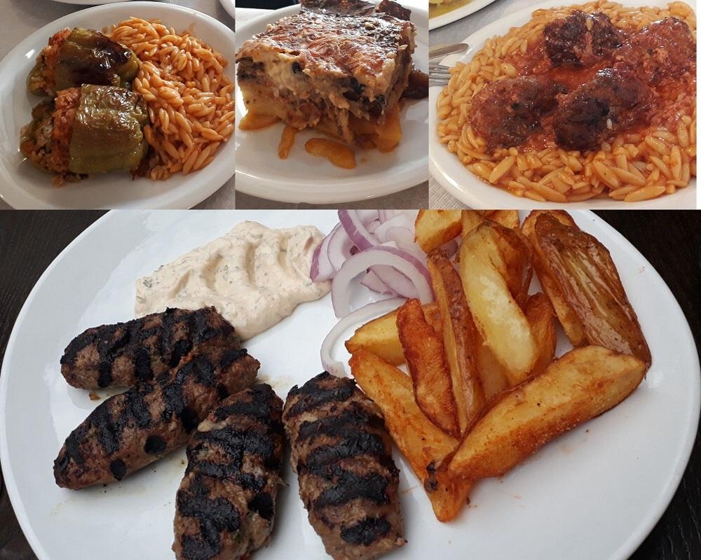 Great comfort food in Thessaloniki